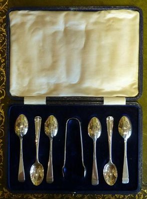 Silver Rattail Spoons