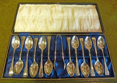Silver Tea Spoon Set